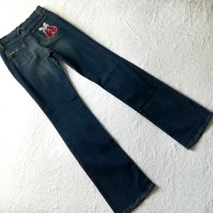 See By Chloe Bootcut Jeans W/Boxing Glove Pocket
